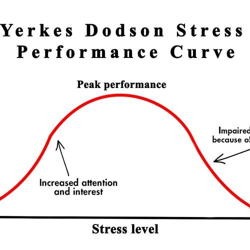 Yerkes Dodson Stress Performance Curve - FarrerHealth