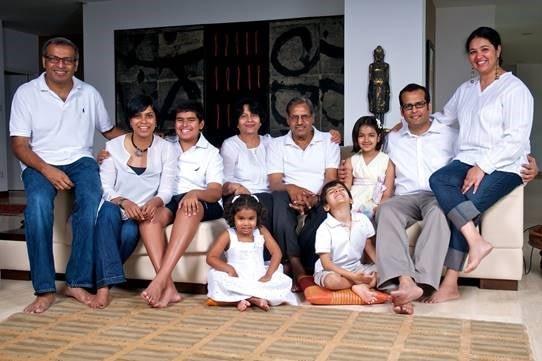 Mr Sharma and Family